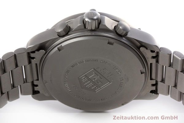 Used luxury watch Tag Heuer Professional chronograph steel automatic Kal. 4.90 Valj. 7750 Ref. 760.306  | 161583 09