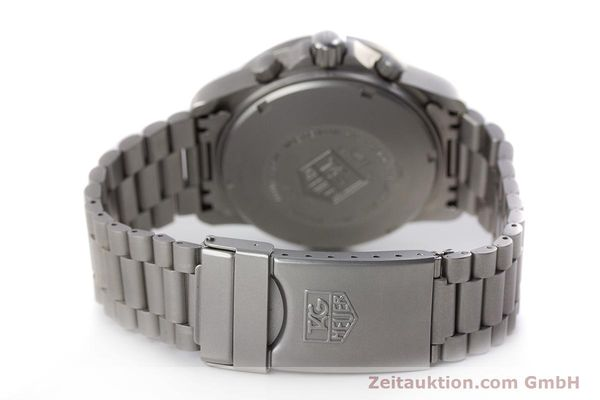 Used luxury watch Tag Heuer Professional chronograph steel automatic Kal. 4.90 Valj. 7750 Ref. 760.306  | 161583 11