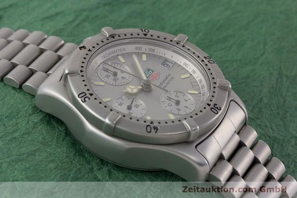 Used luxury watch Tag Heuer Professional chronograph steel automatic Kal. 4.90 Valj. 7750 Ref. 760.306  | 161583 14