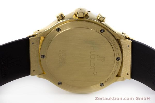 Used luxury watch Hublot MDM chronograph 18 ct gold quartz Kal. 1270  | 161589 09