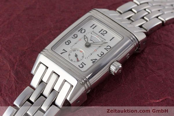Used luxury watch Jaeger Le Coultre Reverso steel manual winding Ref. 296.8.74  | 161592 01