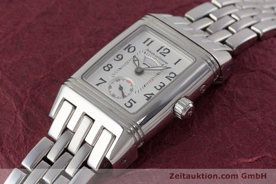 JAEGER LE COULTRE REVERSO STEEL MANUAL WINDING LP: 6500EUR [161592]