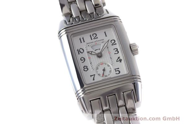 Used luxury watch Jaeger Le Coultre Reverso steel manual winding Ref. 296.8.74  | 161592 02
