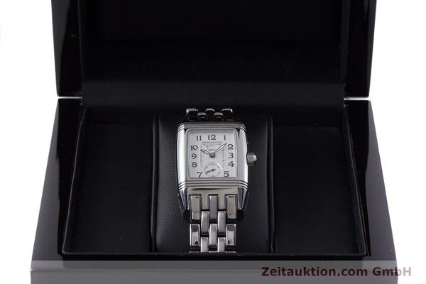 Used luxury watch Jaeger Le Coultre Reverso steel manual winding Ref. 296.8.74  | 161592 07