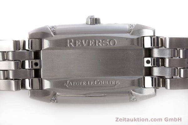 Used luxury watch Jaeger Le Coultre Reverso steel manual winding Ref. 296.8.74  | 161592 09