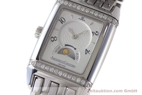 Used luxury watch Jaeger Le Coultre Reverso steel manual winding Ref. 296.8.74  | 161592 12