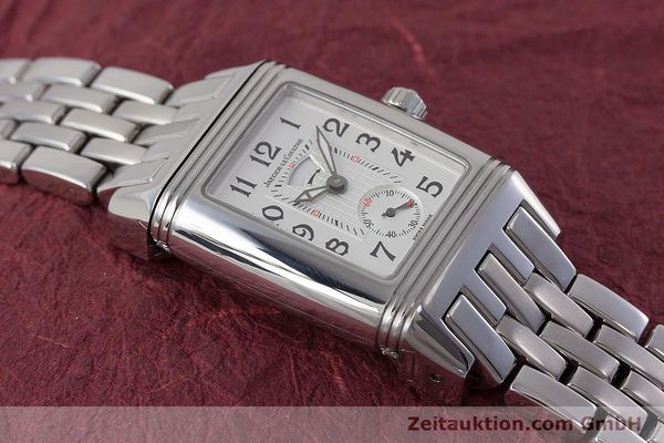 Used luxury watch Jaeger Le Coultre Reverso steel manual winding Ref. 296.8.74  | 161592 13