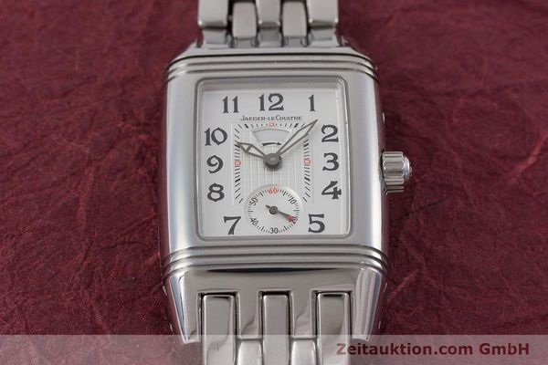 Used luxury watch Jaeger Le Coultre Reverso steel manual winding Ref. 296.8.74  | 161592 14
