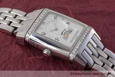 JAEGER LECOULTRE LADY REVERSO DIAMANTEN GRAN SPORT DUETTO NIGHT & DAY NP: 6500,- [161592]