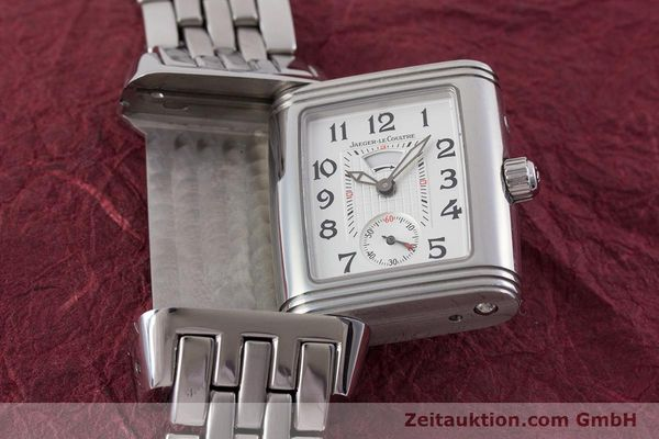 Used luxury watch Jaeger Le Coultre Reverso steel manual winding Ref. 296.8.74  | 161592 16