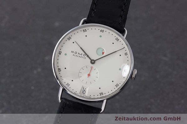 NOMOS METRO STEEL MANUAL WINDING KAL. DUW4401 LP: 2880EUR [161593]