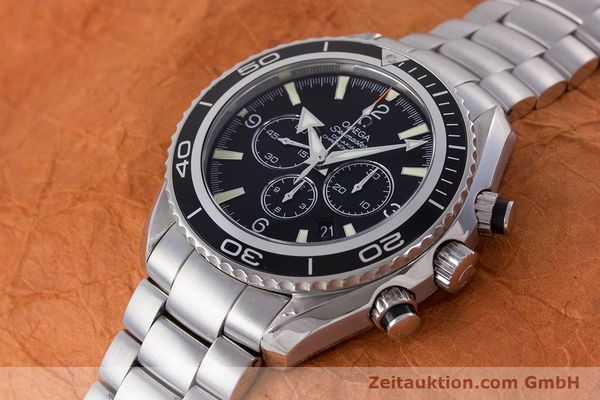 Used luxury watch Omega Seamaster chronograph steel automatic Kal. 3313B Ref. 22105000  | 161597 01