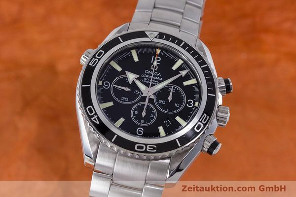 Used luxury watch Omega Seamaster chronograph steel automatic Kal. 3313B Ref. 22105000  | 161597 04