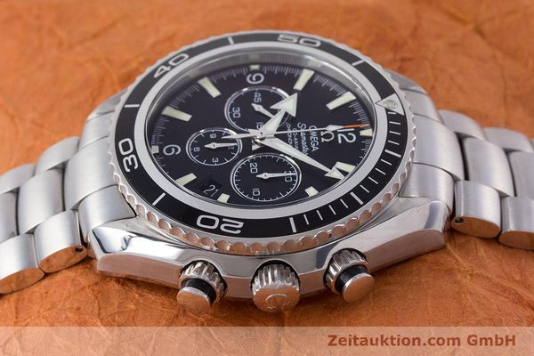 Used luxury watch Omega Seamaster chronograph steel automatic Kal. 3313B Ref. 22105000  | 161597 05