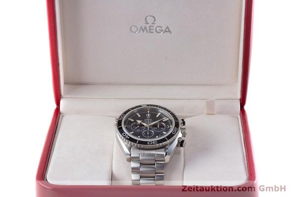 Used luxury watch Omega Seamaster chronograph steel automatic Kal. 3313B Ref. 22105000  | 161597 07