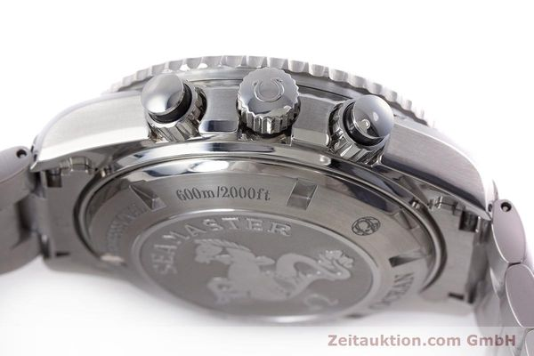 Used luxury watch Omega Seamaster chronograph steel automatic Kal. 3313B Ref. 22105000  | 161597 12
