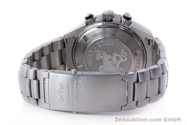 Used luxury watch Omega Seamaster chronograph steel automatic Kal. 3313B Ref. 22105000  | 161597 14