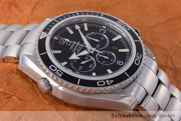Used luxury watch Omega Seamaster chronograph steel automatic Kal. 3313B Ref. 22105000  | 161597 18