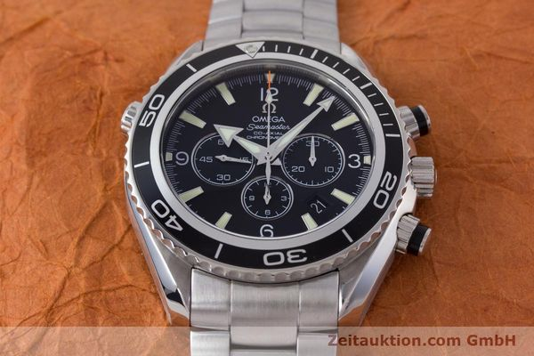 Used luxury watch Omega Seamaster chronograph steel automatic Kal. 3313B Ref. 22105000  | 161597 19