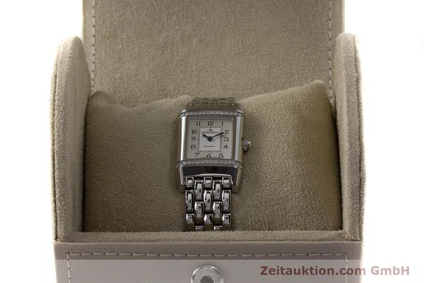 Used luxury watch Jaeger Le Coultre Reverso steel quartz Kal. 608 Ref. 265.8.08  | 161598 07