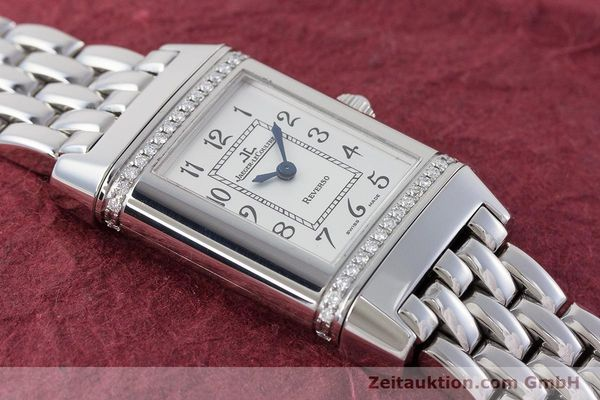 Used luxury watch Jaeger Le Coultre Reverso steel quartz Kal. 608 Ref. 265.8.08  | 161598 14