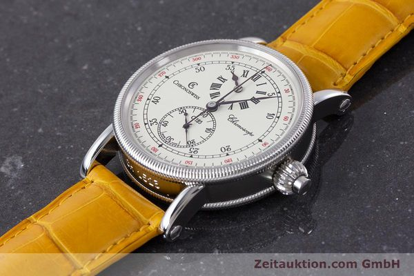 Used luxury watch Chronoswiss Chronoscope chronograph steel automatic Kal. 125 Ref. CH1523  | 161599 01