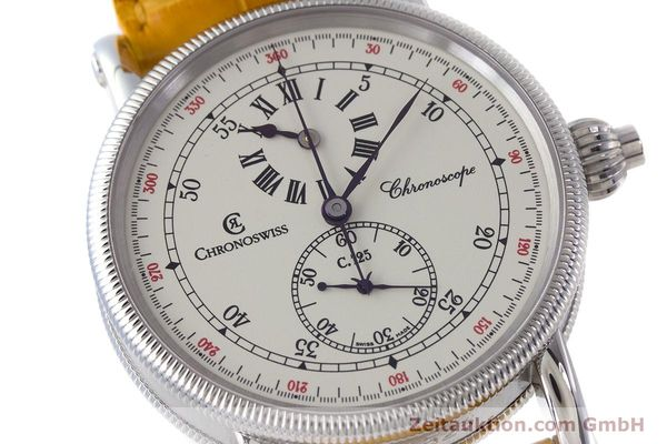 Used luxury watch Chronoswiss Chronoscope chronograph steel automatic Kal. 125 Ref. CH1523  | 161599 02
