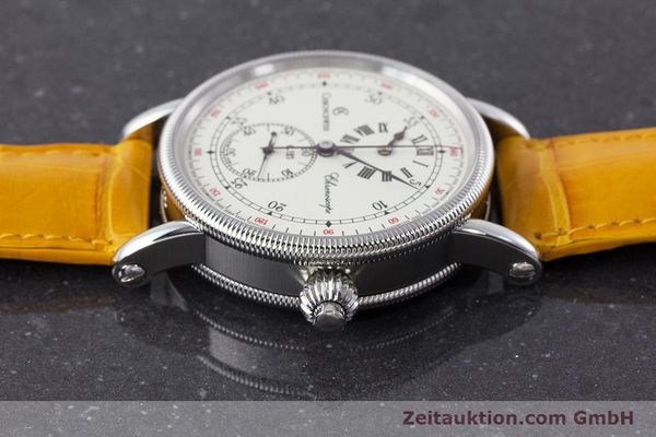 Used luxury watch Chronoswiss Chronoscope chronograph steel automatic Kal. 125 Ref. CH1523  | 161599 05