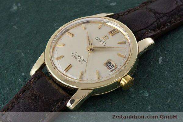 Used luxury watch Omega Seamaster 14 ct yellow gold automatic Kal. 503 Ref. 2849SC-2 VINTAGE  | 161601 01