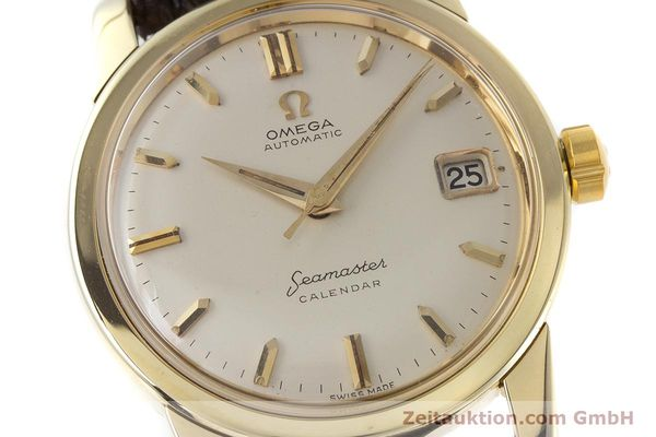 Used luxury watch Omega Seamaster 14 ct yellow gold automatic Kal. 503 Ref. 2849SC-2 VINTAGE  | 161601 02