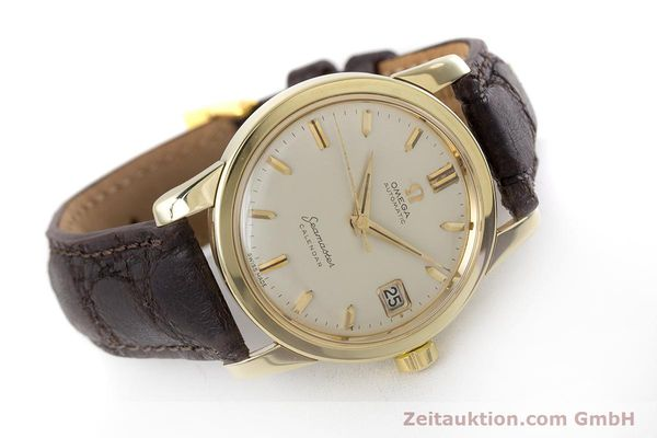 Used luxury watch Omega Seamaster 14 ct yellow gold automatic Kal. 503 Ref. 2849SC-2 VINTAGE  | 161601 03