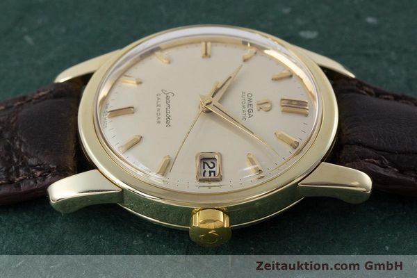 Used luxury watch Omega Seamaster 14 ct yellow gold automatic Kal. 503 Ref. 2849SC-2 VINTAGE  | 161601 05