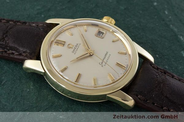 Used luxury watch Omega Seamaster 14 ct yellow gold automatic Kal. 503 Ref. 2849SC-2 VINTAGE  | 161601 13