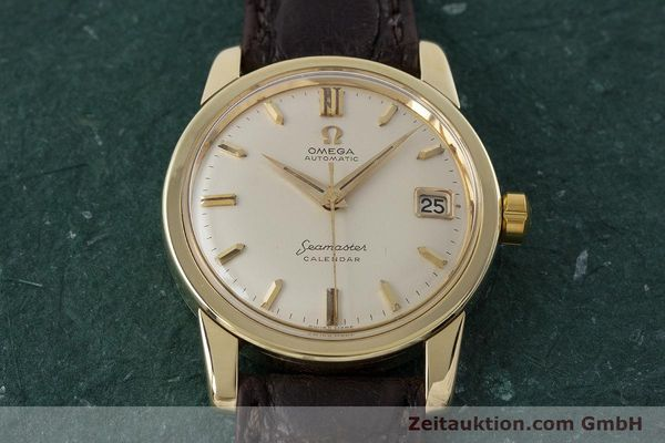 Used luxury watch Omega Seamaster 14 ct yellow gold automatic Kal. 503 Ref. 2849SC-2 VINTAGE  | 161601 14
