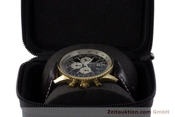 Used luxury watch Breitling Navitimer chronograph gold-plated manual winding Kal. LWO 1873 Ref. 81600  | 161603 07