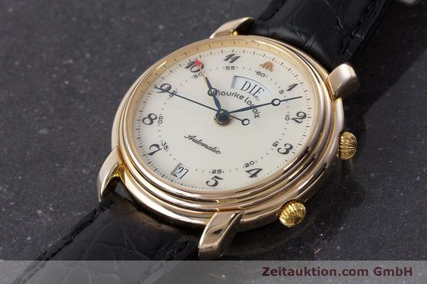 Used luxury watch Maurice Lacroix Reveil gold-plated automatic Kal. AS 5008 Ref. 2709  | 161607 01