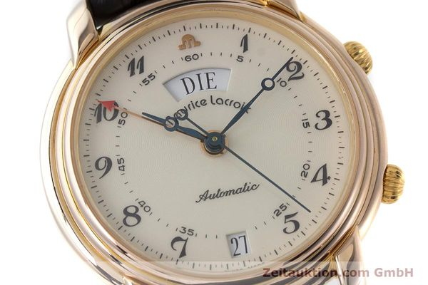Used luxury watch Maurice Lacroix Reveil gold-plated automatic Kal. AS 5008 Ref. 2709  | 161607 02