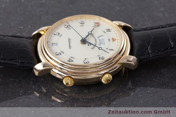 Used luxury watch Maurice Lacroix Reveil gold-plated automatic Kal. AS 5008 Ref. 2709  | 161607 05