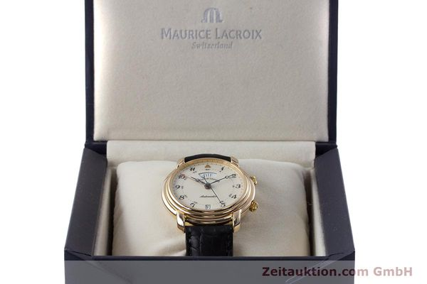 Used luxury watch Maurice Lacroix Reveil gold-plated automatic Kal. AS 5008 Ref. 2709  | 161607 07