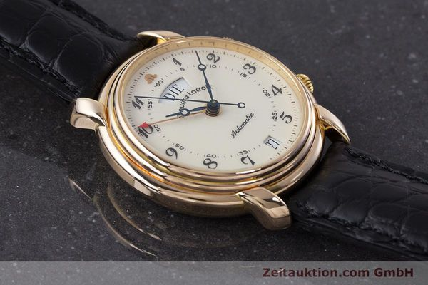 Used luxury watch Maurice Lacroix Reveil gold-plated automatic Kal. AS 5008 Ref. 2709  | 161607 14