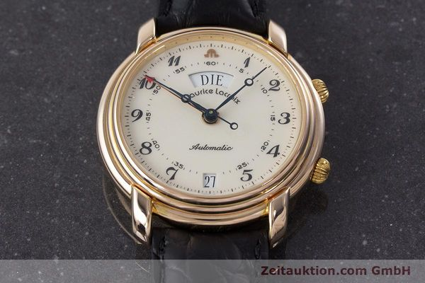 Used luxury watch Maurice Lacroix Reveil gold-plated automatic Kal. AS 5008 Ref. 2709  | 161607 15