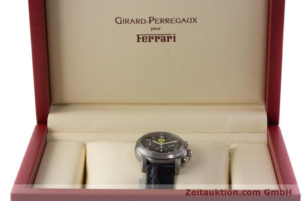 Used luxury watch Girard Perregaux Ferrari chronograph titanium automatic Kal. 2280-781 Ref. 8020 LIMITED EDITION | 161618 07