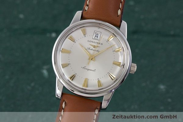 LONGINES CONQUEST ACIER AUTOMATIQUE KAL. L633.5 ETA 2824-2 LP: 890EUR [161622]