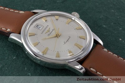 LONGINES CONQUEST STEEL AUTOMATIC KAL. L633.5 ETA 2824-2 LP: 890EUR [161622]