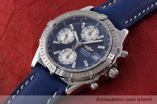 Used luxury watch Breitling Chronomat chronograph steel automatic Kal. B13 ETA 7750 Ref. A13352  | 161624 01