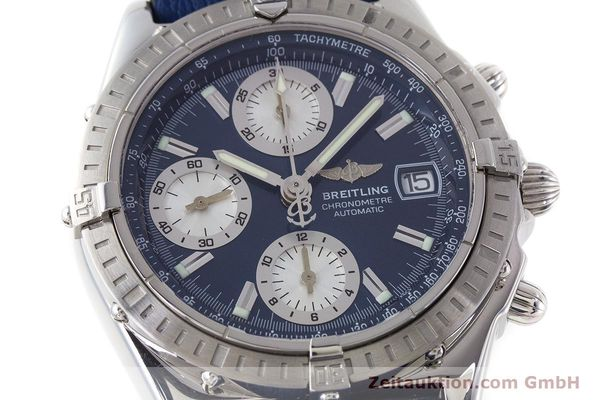 Used luxury watch Breitling Chronomat chronograph steel automatic Kal. B13 ETA 7750 Ref. A13352  | 161624 02