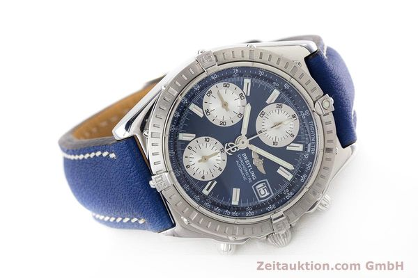 Used luxury watch Breitling Chronomat chronograph steel automatic Kal. B13 ETA 7750 Ref. A13352  | 161624 03