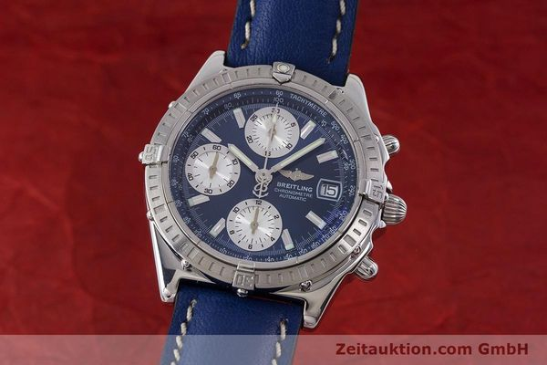 Used luxury watch Breitling Chronomat chronograph steel automatic Kal. B13 ETA 7750 Ref. A13352  | 161624 04