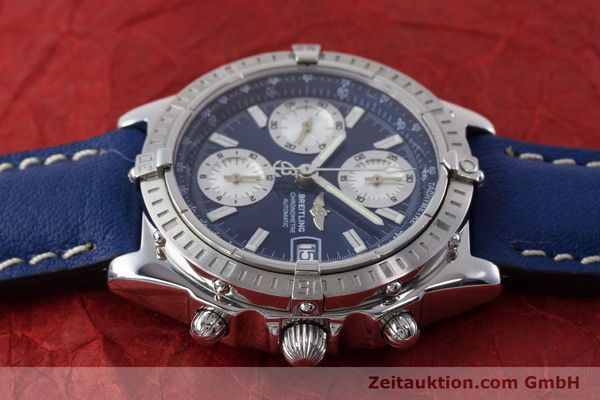 Used luxury watch Breitling Chronomat chronograph steel automatic Kal. B13 ETA 7750 Ref. A13352  | 161624 05