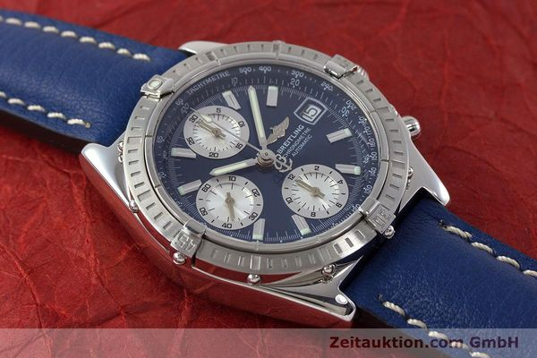 Used luxury watch Breitling Chronomat chronograph steel automatic Kal. B13 ETA 7750 Ref. A13352  | 161624 15